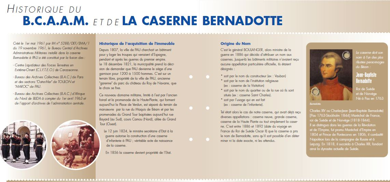 la caserne BERNADOTTE Hb12072011