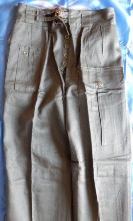Pantalon long ONU de tenue dite indienne